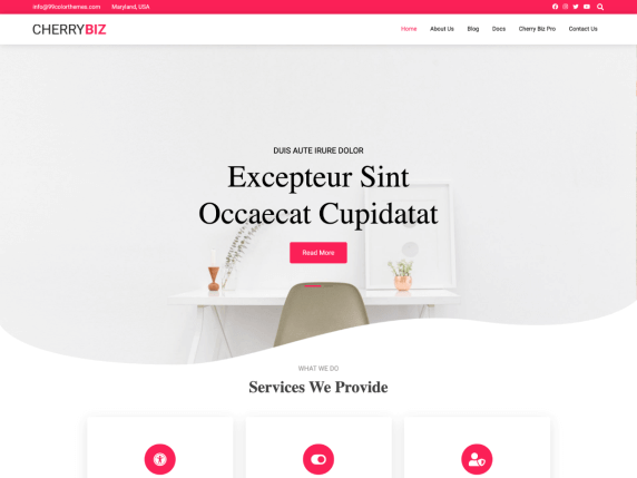 strona internetowa z cms