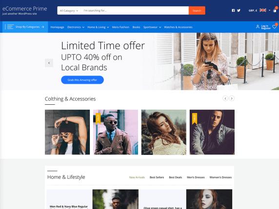 sklepu internetowego eCommerce