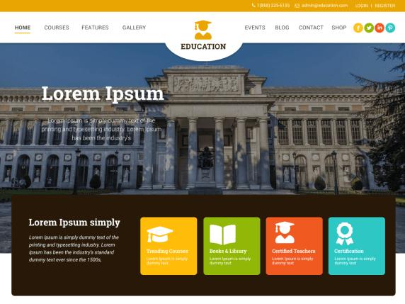 motyw wordpress dla szkoły, uczelni, korepetycje